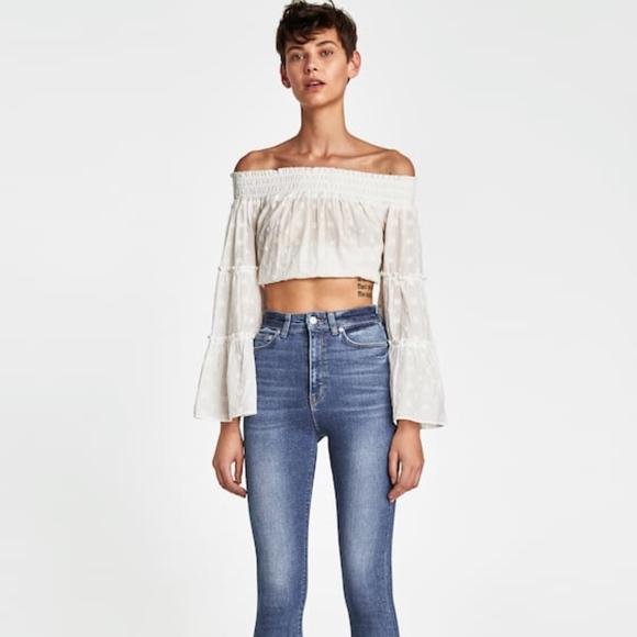 4f8cf868 Zara Jeans   80s High Waist Size 8   Poshmark